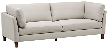 Rivet Midtown Mid-Century Modern Upholstered Sectional Sofa Couch, 92.1