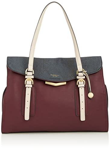 8f63ab6bcb1a Fiorelli Womens Jenna Shoulder Bag Burgundy Snake Mix  Amazon.co.uk ...