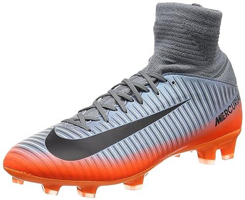 online store 46711 1bd30 Nike 852483 Mercurial Superfly V Cr7 - Botas de fútbol, Gris Fresco, 4 M