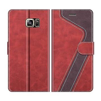 MOBESV Funda para Samsung Galaxy S6 Edge Plus, Funda Libro Samsung S6 Edge Plus, Funda Móvil Galaxy S6 Edge+ Magnético Carcasa para Samsung Galaxy S6 ...