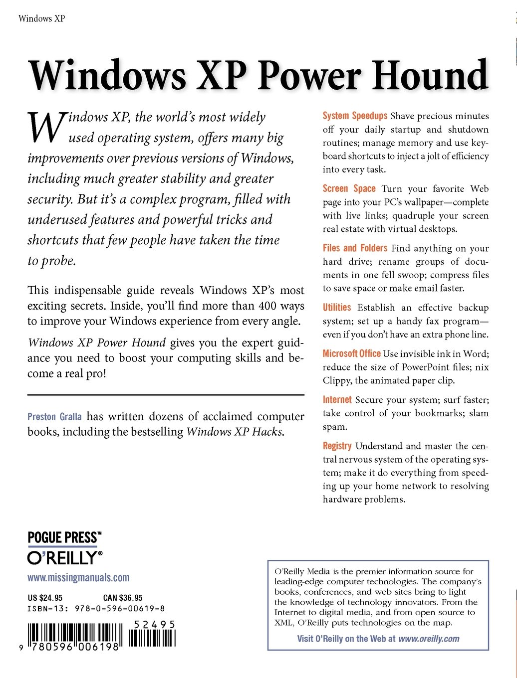 Books on Windows XP: a selection of sites