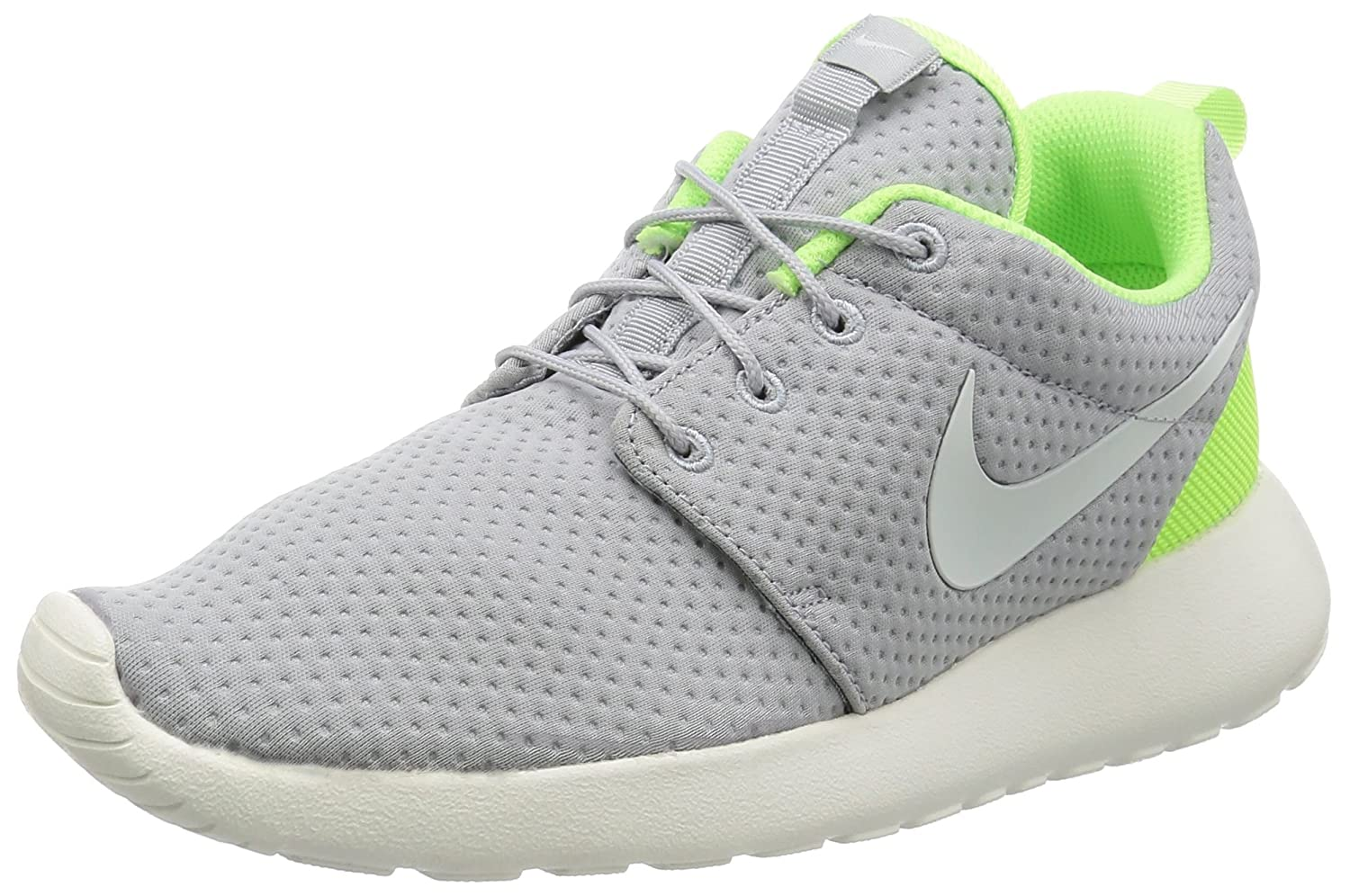 NIKE Men's Roshe Run B01L9188SE 7 D(M) US|Wolf Grey/Sail-ghost Green-sail
