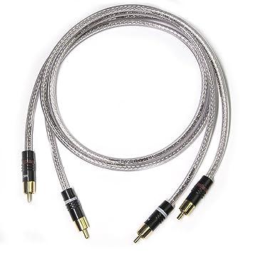 RCA RCA Cable alta fidelidad par de 2 x 1 x 0,50 mm²Corona