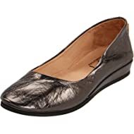 French Sole Womens Zeppa Slip on Shoes