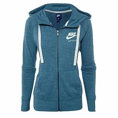 Nike W NSW VNTG Sudadera, Mujer, Azul (Noise Aqua/Sail), XL: Amazon.es: Deportes y aire libre