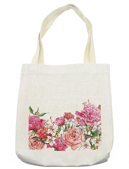 Amazon.com - Lunarable Floral Tote Bag e5c5c468676fe