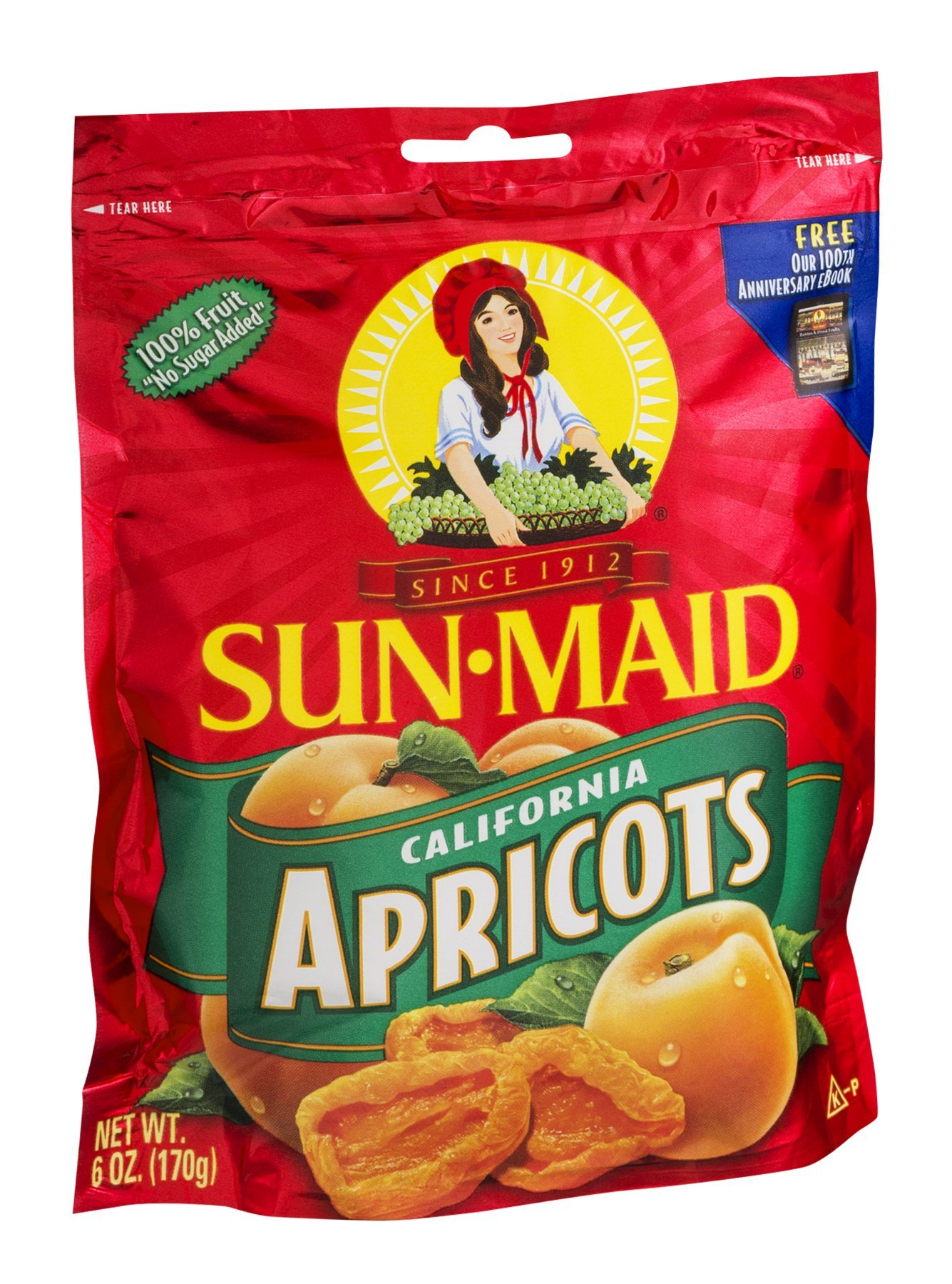 Sun-Maid California Apricots 6 OZ (Pack of 24)