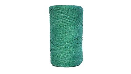Amazon com: Tape Yarn Sparkly 150 Yards/Cotton Tape Yarn/Bulky Yarn