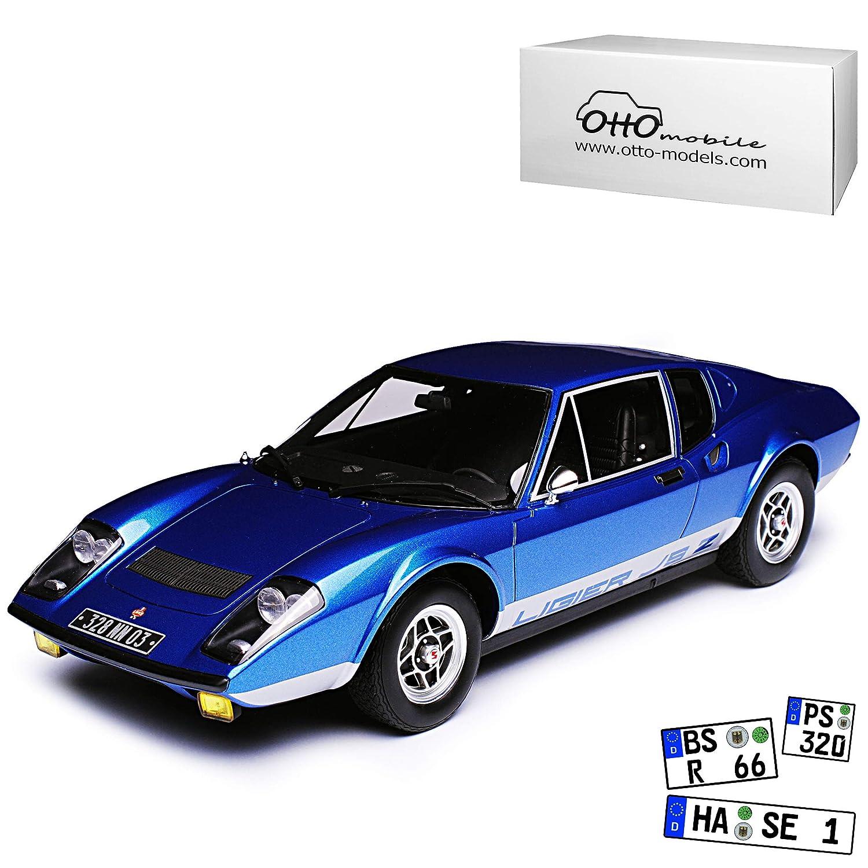 Ligier JS2 Coupe Blau 1970-1975 Nr 293 1/18 Otto Modell Auto
