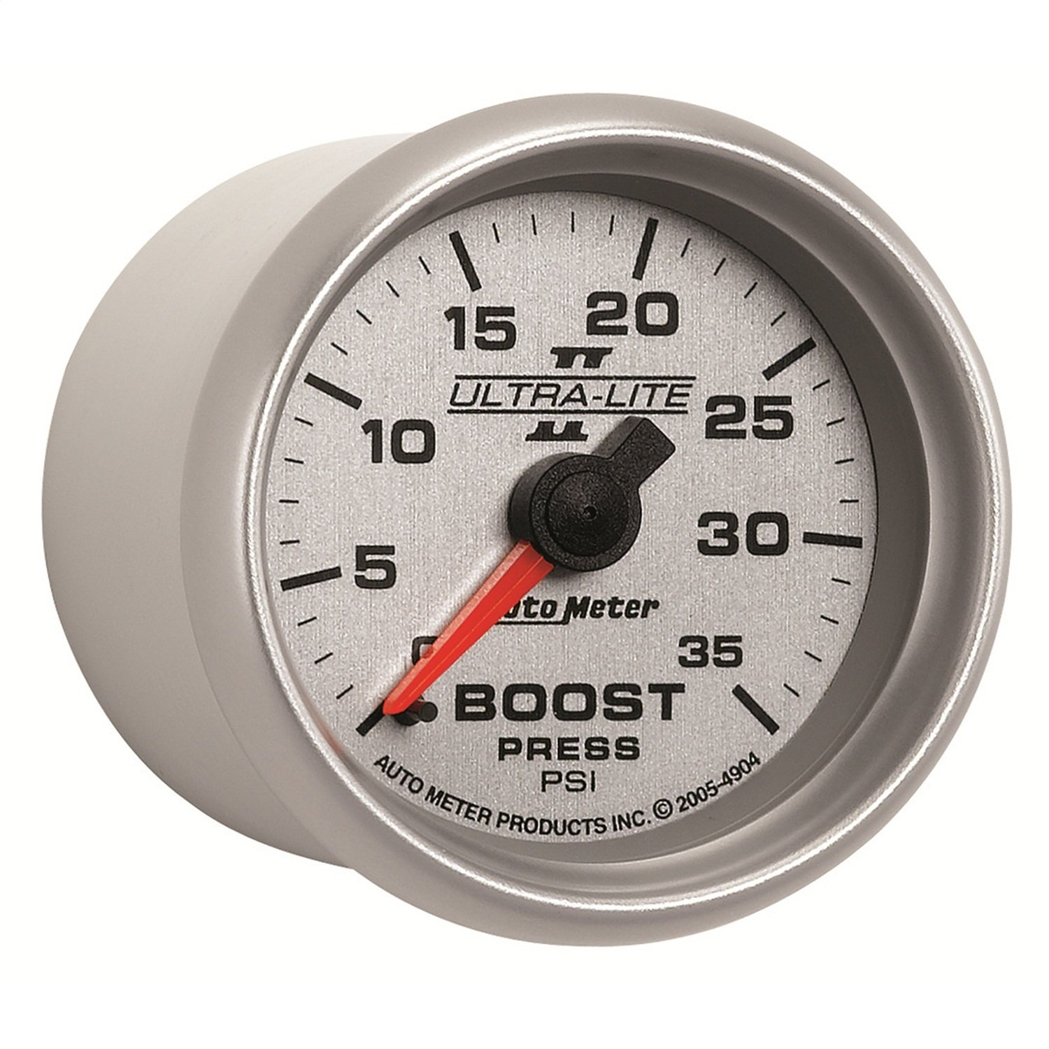 Auto Meter 4904 Ultra-Lite II 2-1/16' 0-35 PSI Mechanical Boost Gauge
