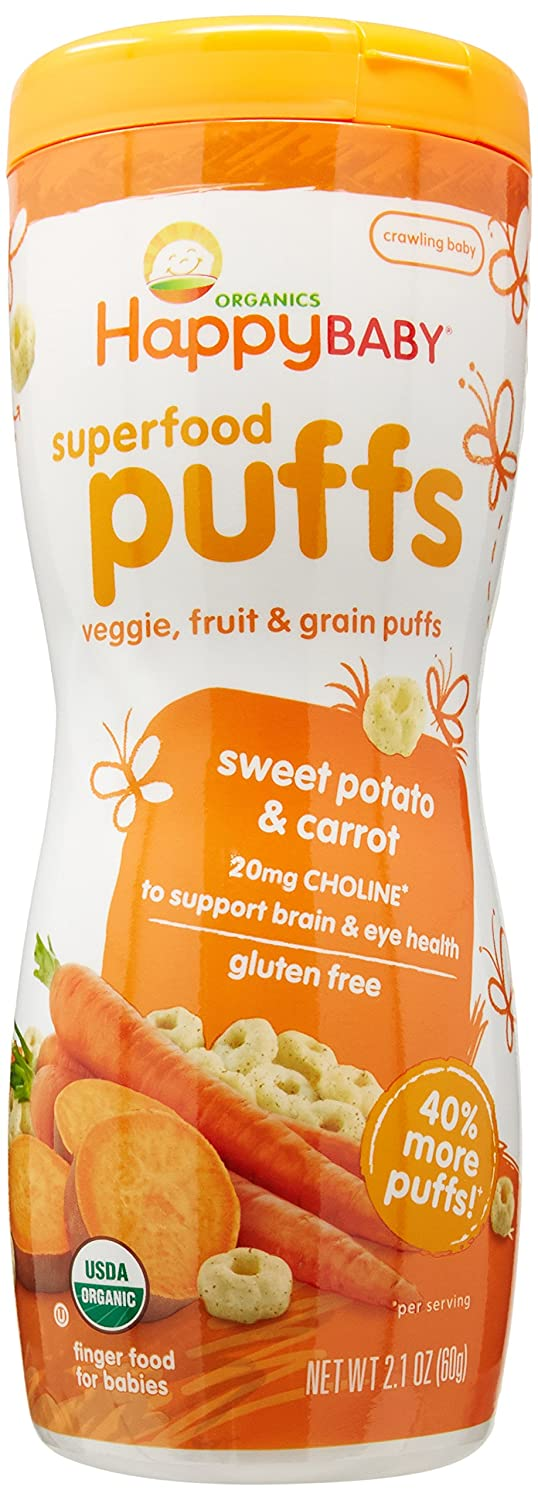 Happy Baby Sweet Potato Puffs (6x2.1Oz) HappyBaby 152