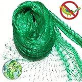 13 Ft x 33 Ft Anti Bird Netting Green Garden Bird Net, Plants Fruits Berry Mesh Netting Protect Against Rodents Birds