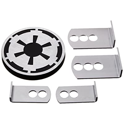 Plasticolor 002281R01 Star Wars Empire Imperial Symbol Hitch Cover, 1 Pack: Automotive