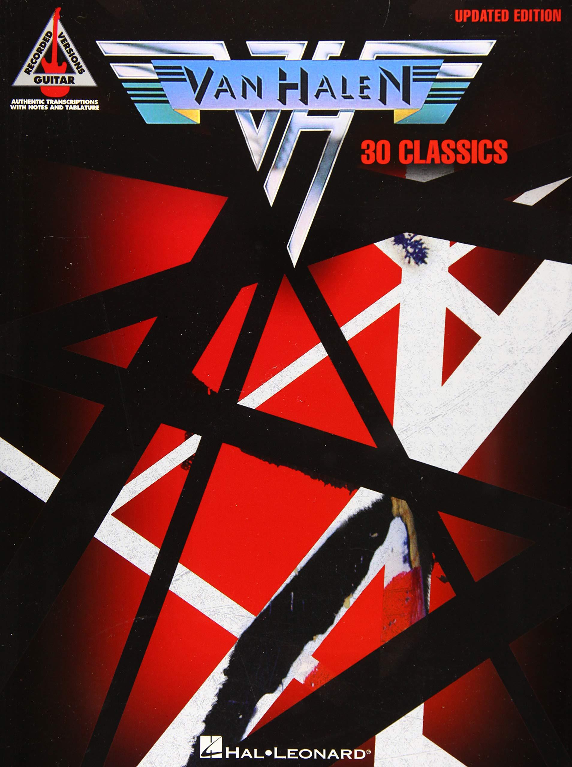 Van Halen - 30 Classics: Updated Edition Guitar Recorded Versions ...