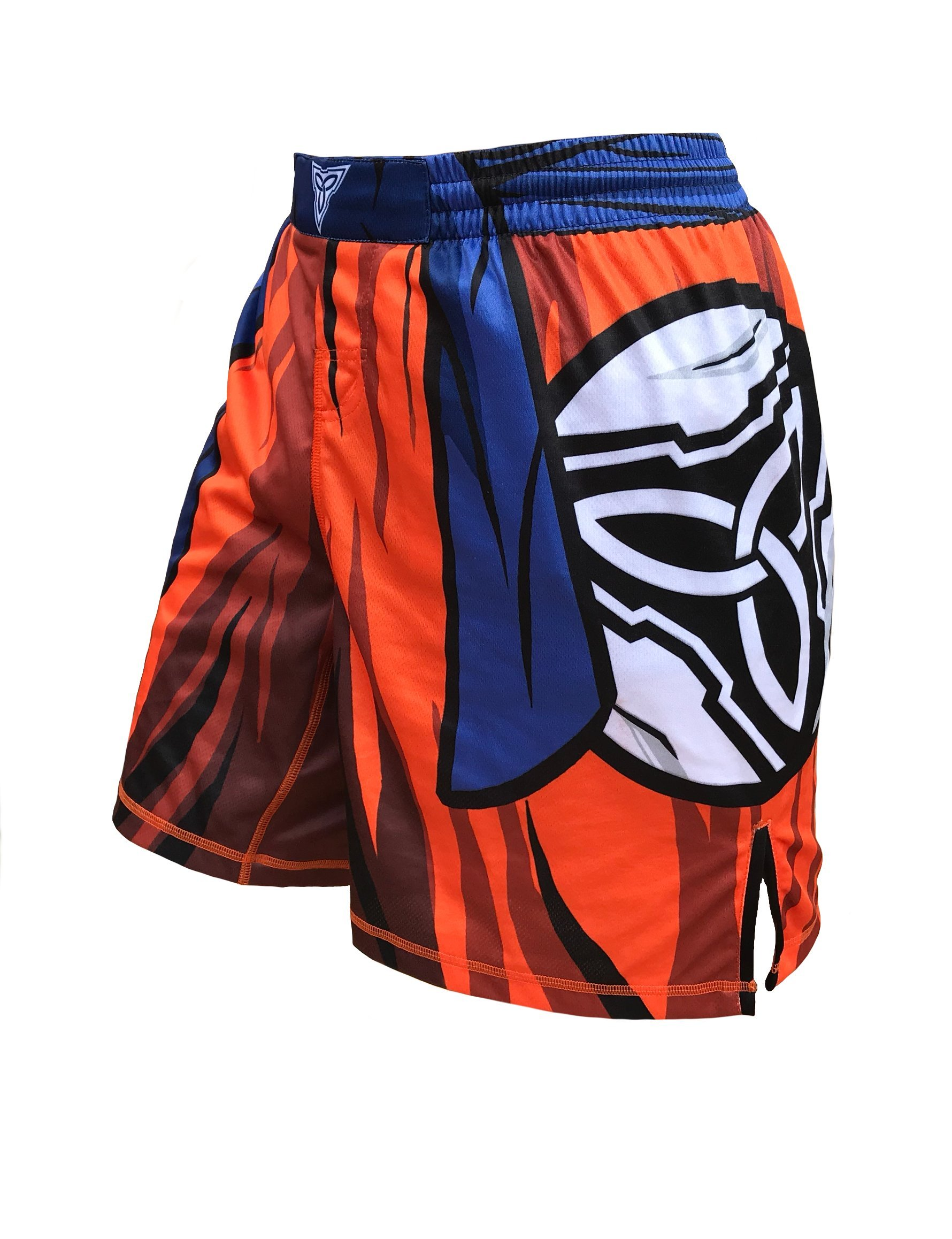 Level Up 9000- Kamesenryu Fight Shorts Youths & Mens (Adult S: 30''-32'') by TRI-TITANS