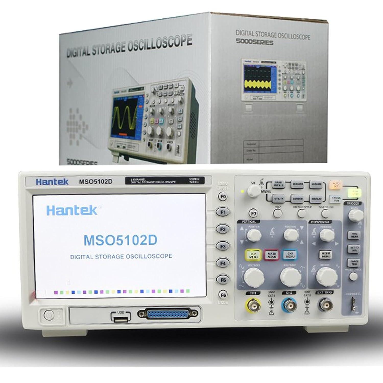 Hantek 2in1mixed signal oscilloscope mso5102d 100mhz 2ch1gsa+16ch.