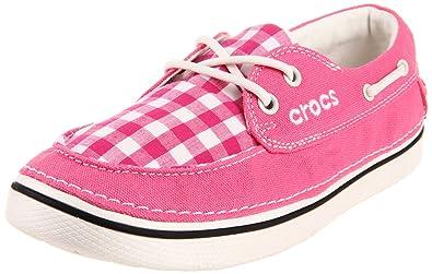 0b96500c9b40c Crocs Women s Hover Gingham Boat Shoe