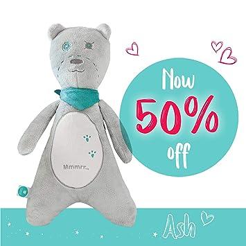 Amazon.com: Bebé chupete oso de peluche por myhummy – Plush ...