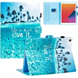 TeeFity New iPad 10.2 2020/2019 Case, iPad 8th/7th Generation Case, Shock Proof Protective Stand Case Cover with Auto Sleep/W