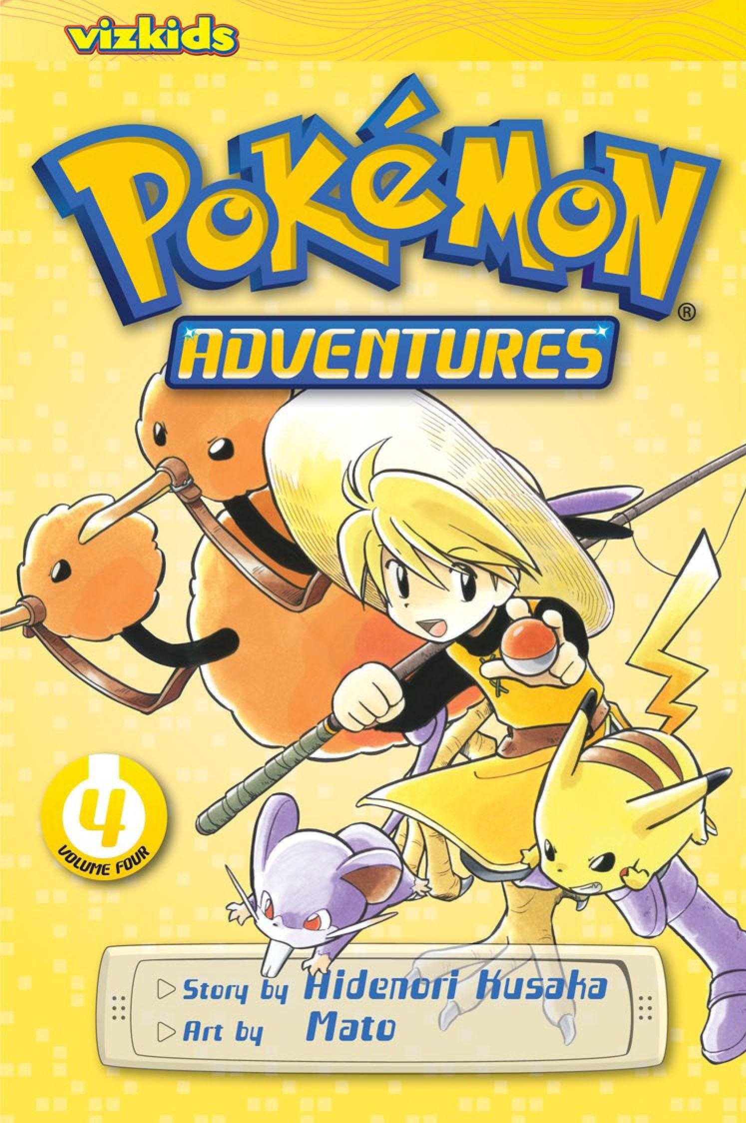 Pokémon Adventures, Vol. 4 (2nd Edition): Hidenori Kusaka ...