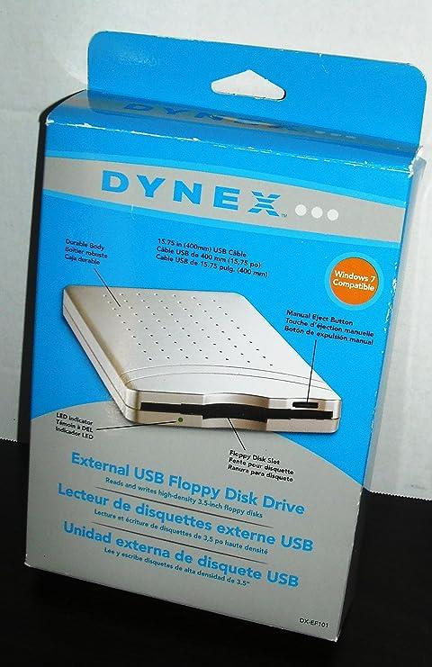 Dynex External USB Floppy Disk Drive DX-EF101 (1 44MB)