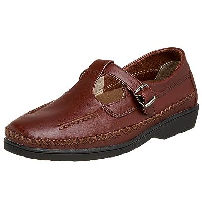Propet Women's W3205 Cafe Walker Walking Shoe,Brown ...