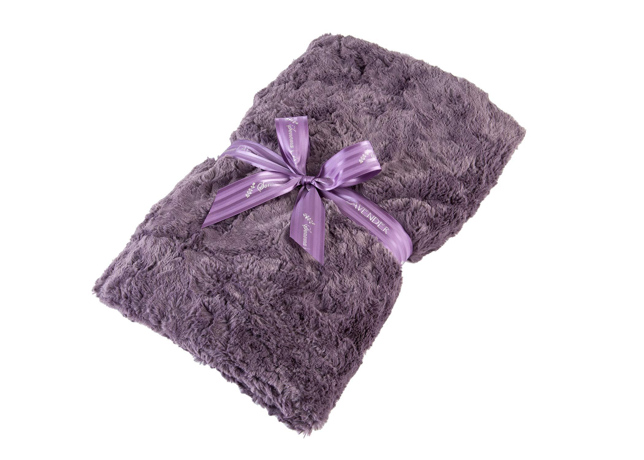 Sonoma Lavender Spa Blankie - Grapemist Lavender by Sonoma Lavender