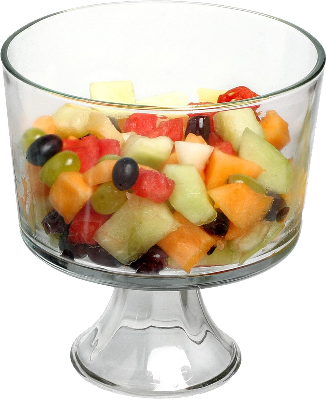 Anchor Hocking 77898 Large Trifle/Fruit Bowl, Glass Fox Run Craftsmen 77910