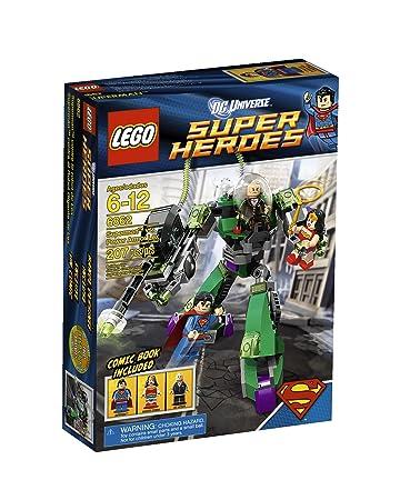 Amazon.com: LEGO Super Heroes Superman Vs Power Armor Lex 6862 ...