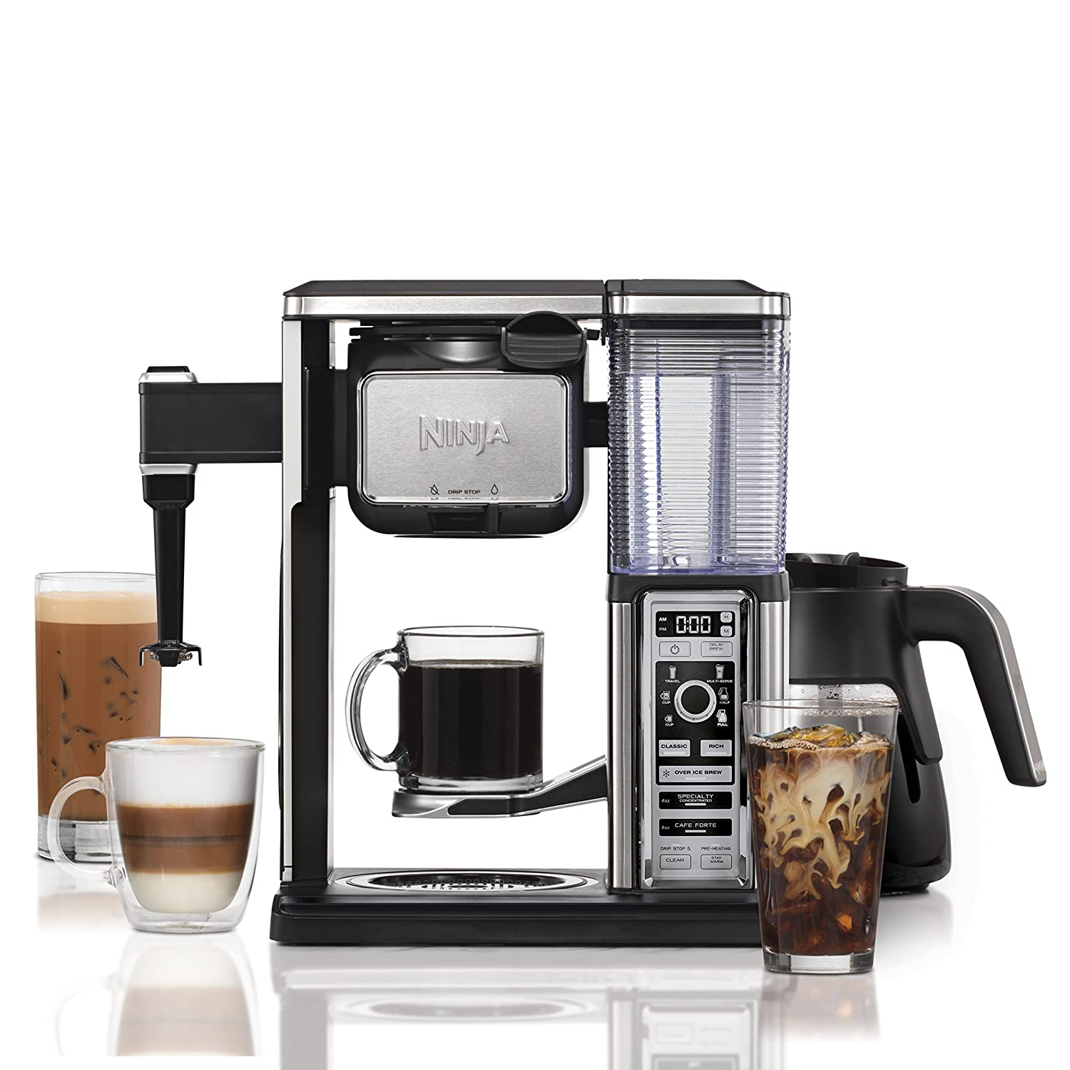 Ninja Coffee Bar Brewer System with Glass Carafe (CF092) SharkNinja