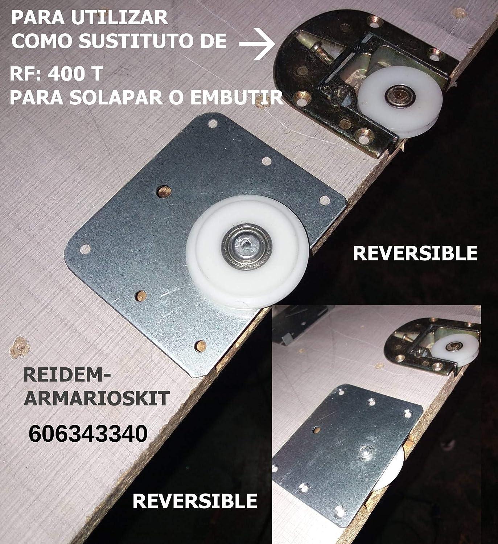 RUEDAS PUERTAS ARMARIO CORREDERA