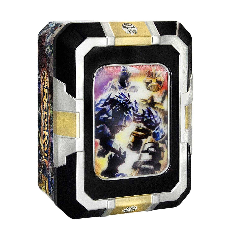 Comprend 3/Rare ou superraras Spin Master Redakai Kairu Tin Bo/îte m/étallique avec 18/Cartes