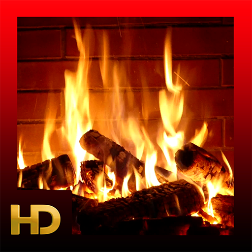- Beautiful Log Fireplaces HD