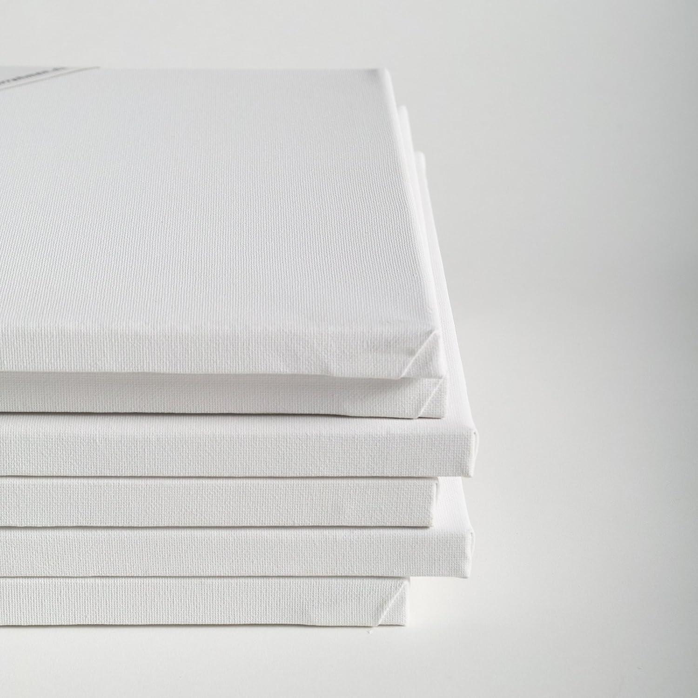BK BILDERRAHMEN KOLMER 6 LEINW/ÄNDE AUF KEILRAHMEN von XTRADEFACTORY 30x40 cm Leinwand malfertig