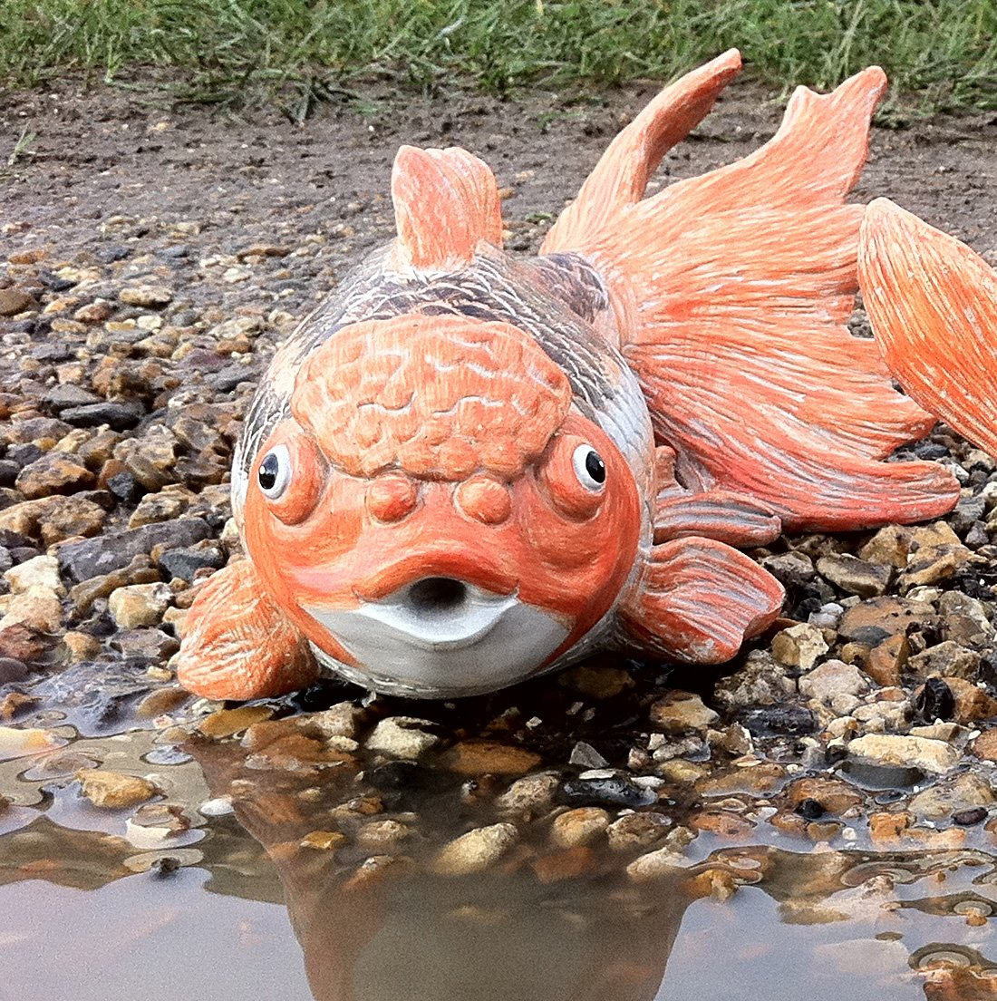 Fish lawn ornaments 100 images outdoors design lawn for Koi import el patio