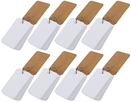 Flash Cards With Binder Rings 8 Pack 400 Piece Study Note