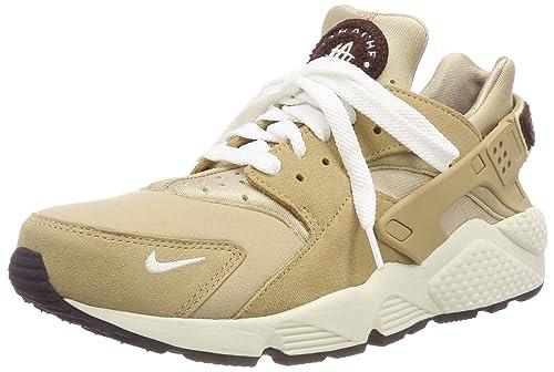 02248d779004 Nike Men s s Air Huarache Run PRM Gymnastics Shoes Beige  (Desert Sail Burgundy Ash