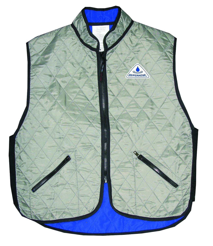 Deluxe Evaporative Cooling Vest,Silver,XXX-Large