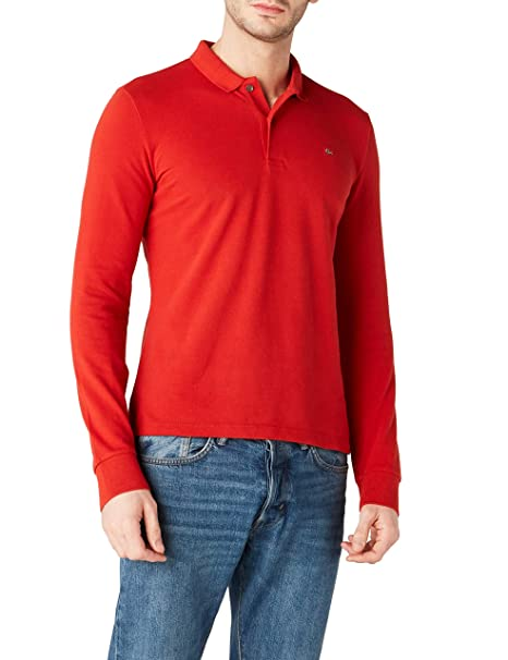 Napapijri - Polo Orange Red S: Amazon.es: Ropa y accesorios