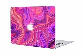 Carcasa MacBook Pro 13 Retina, AQYLQ [Mármol Colorido] Funda Dura MacBook Pro Retina 13 Pulgadas A1425 / A1502 Ultra Delgado Plástico, Vívido Mármol ...