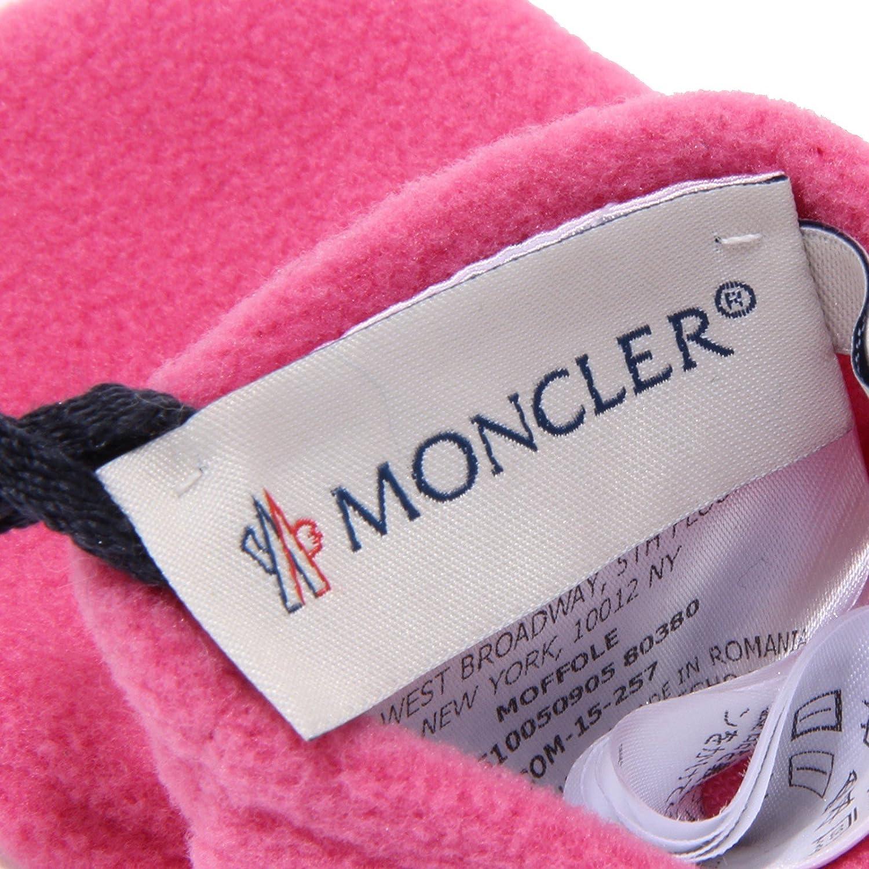 MONCLER 4458U muffole bimba gloves pile fuxia kid girl unisex [XXS ...