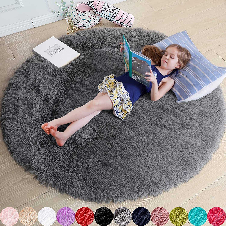 floor decoration floor knitted rug knitted carpet cotton cord round rug home /& decor crochet carpet Grey crochet rug furniture