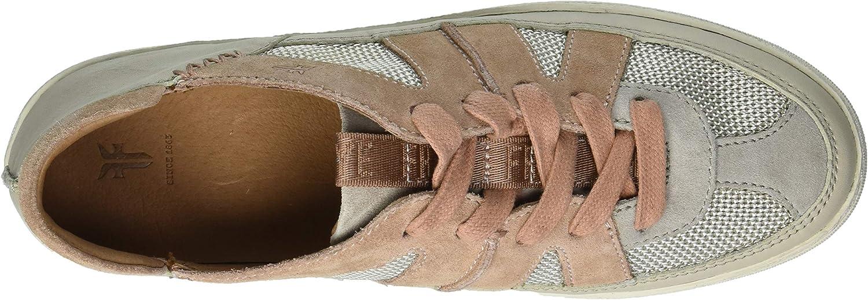 Frye Women's Webster Overlay Low Lace Sneaker Pale Blush Multi