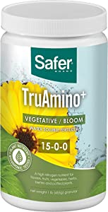 Safer Brand Truamino Nutrient Solution, 1 Pound