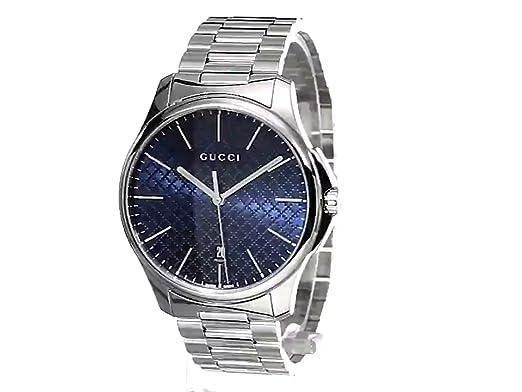 Amazon.com: Gucci G-Timeless Stainless Steel Bracelet Unisex Watch(Model:YA126316): Watches