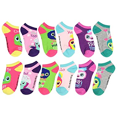 Girls Hatchimals 6 Pack Low Cut Socks (Multi)
