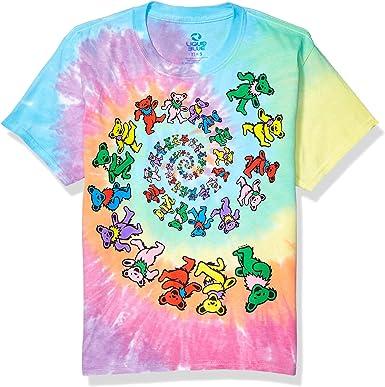 Grateful Dead Spiral Bears Tie Dye T Shirt