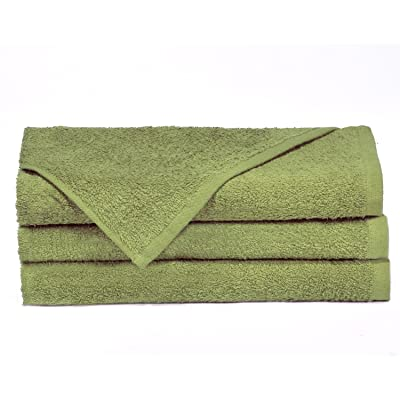 "Towels by Doctor Joe D-16274.5-GI-6EA Think Thick Sage Green 16"" x 27"" Super Absorbent Car Wash and Detailing Towel, (Pack of 6): Automotive"