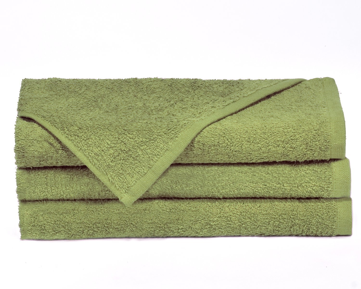 Towels by Doctor Joe Think Thick Sage Green 16 x 27 Super Absorbent Car Wash and Detailing Towel Pack of 12 DJT1600-G