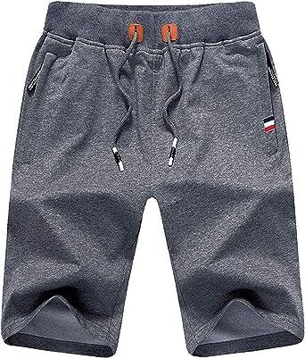 BOLAWOO-77 Pantalones Ocasionales De Los Deportes De Algodón ...